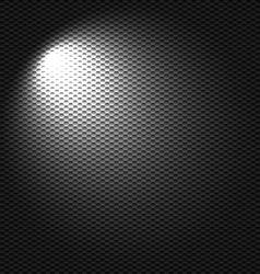 Light flashlight vector image