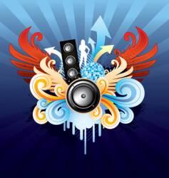 Royal speaker vector