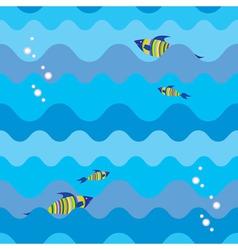 sea texture vector image