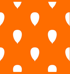 Apricot seed pattern seamless vector
