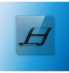 blank film strip vector image
