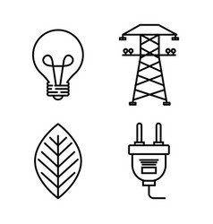 Energy resources design vector