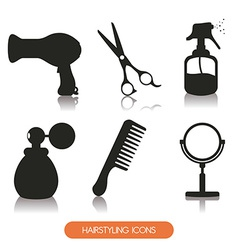 hairdressing vector image vector image