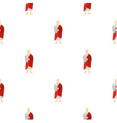 Korean monk pattern seamless vector