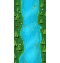 Vertical Jump Game Baground vector image