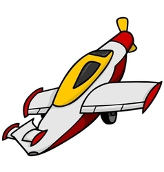 Toy - Airplane vector image