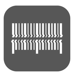 Scan the bar code icon barcode scanning symbol vector