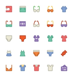 Clothes icons 11 vector