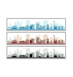 Architectural building vector