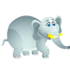 Elephant cartoon vector image