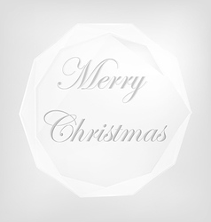christmas Premium labels vector image vector image