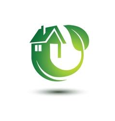 Green house 2 vector