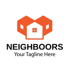 Neighboors Design vector image vector image
