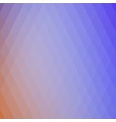 Retro rhombs background vector image vector image