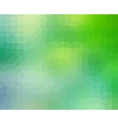 abstract geometric background in blue and green vector image
