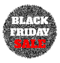 Black friday sale abstract banner vector