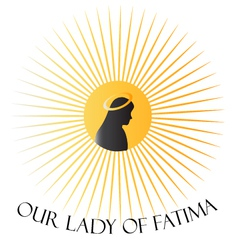 Our Lady of Fatima vector image