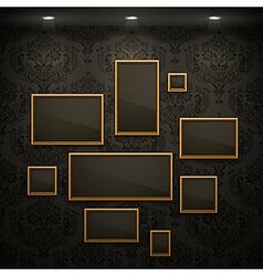 random frames vector image