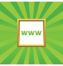 Www picture icon vector