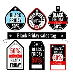 Black friday sales price vector