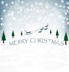 Abstract Christmas Design vector image vector image