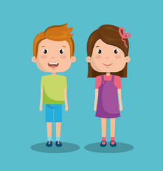 Small kids design vector