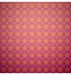 Abstract star pattern wallpaper vector