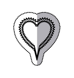 chat bubble heart icon stock vector image