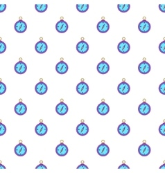 Compass pattern cartoon style vector