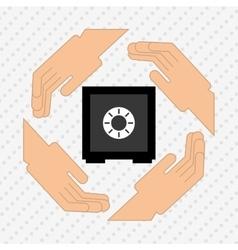 economy concept design vector image vector image