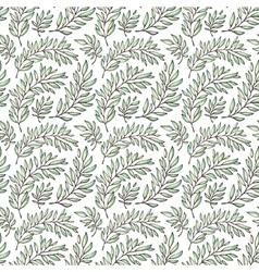 Seamless pattern decorative branches vector image