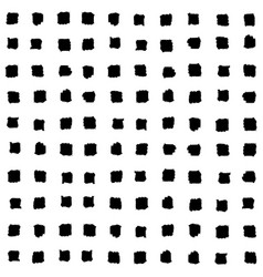 Small black squares seamless pattern vector