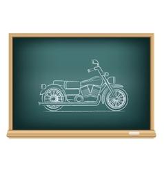 board motorcycle vector image