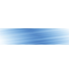 Blue lines panoramic background vector