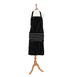 Apron on mannequin vector