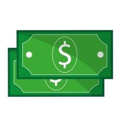 dollar bill vector image