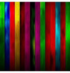 Abstract wood texture background colorful vector image