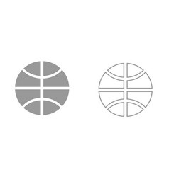 basketball ball it is icon vector image vector image
