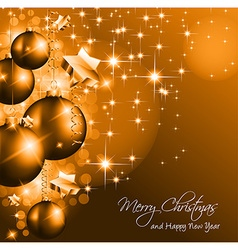 Christmas Background for Greetings vector image vector image