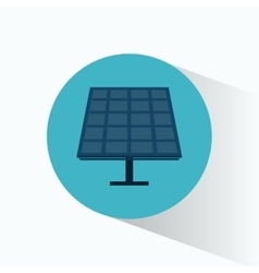 Solar energy panel source alternative vector