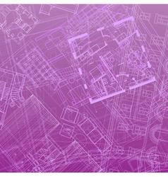 blueprint backdrop violet vector image