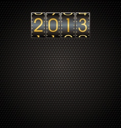 2013 New Year Background vector image vector image