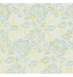 Floral vintage rustic seamless pattern vector