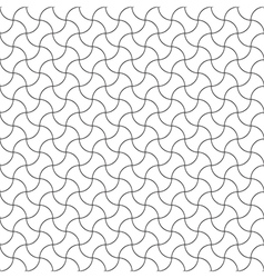 Seamless pattern diagonal semicircle vector