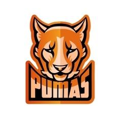 Puma mascot vector