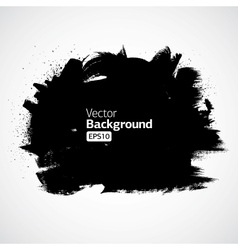 Grunge Ink Draw Background vector image