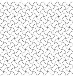 Seamless pattern diagonal semicircle vector image vector image