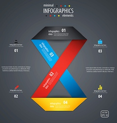 Infographics template 2 vector