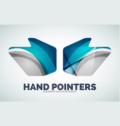 Hand mouse pointer vector