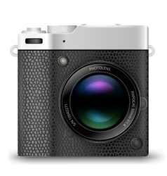 Mrls camera icon vector